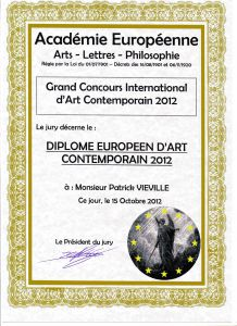 Grand concours International d'art contemporain 2012